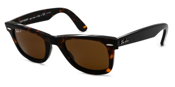 Ray-Ban RB2140 Original Wayfarer Polarized サングラス 902/57