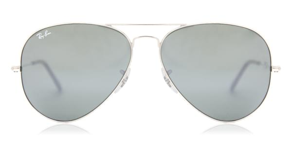 Ray-Ban RB3025 Aviator Large Metal 003 40 Sunglasses Silver ... ab96f297a9
