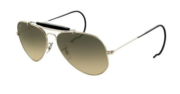 0088f98c0 Ray-Ban RB3030 Outdoorsman 003/32 Sunglasses in Silver ...