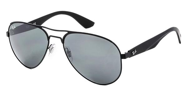 4e39bc6f74 Ray-Ban RB3523 Highstreet 006 6G Sunglasses Black
