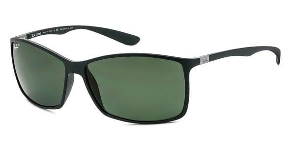 db1fe3a2bd689 Ray-Ban RB4179 LiteForce Polarized 61259A Sunglasses Green ...