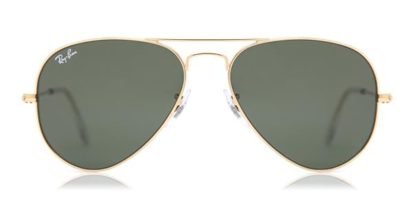 Ray-Ban RB3025 Aviator Large Metal W3234 Sunglasses Gold ... 598dd06e94