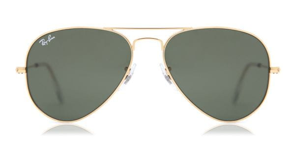 618c016814 Ray-Ban RB3025 Aviator Large Metal W3234 Sunglasses Gold ...
