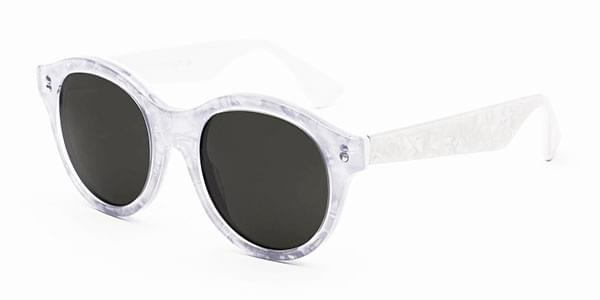 95635b4e77 Retrosuperfuture Mona I3DE 3PC Sunglasses Clear White ...