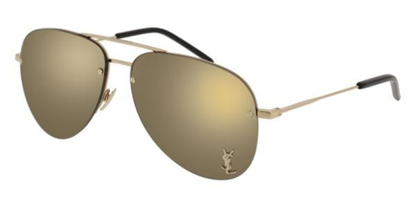 89f5128f5f Saint Laurent CLASSIC 11 M 004 Sunglasses Gold