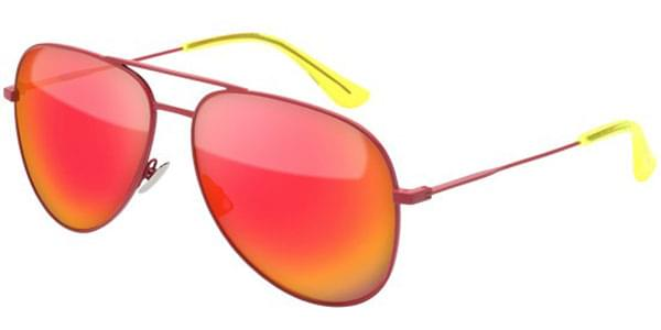 3944dacab529e9 Saint Laurent CLASSIC 11 SURF 007 Sunglasses in Red ...