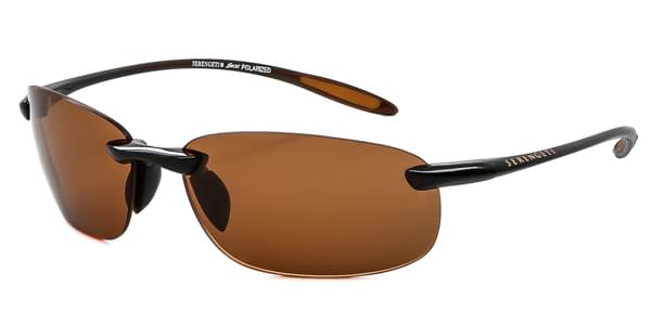 956ae320d7 Serengeti Nuvola Polarized 7360 Brown Sunglasses