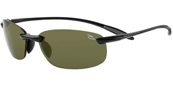 57efbd4cef Serengeti Nuvola Polarized 7718 Sunglasses Black