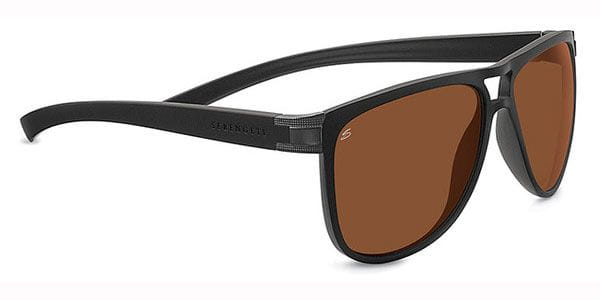 94ebd8a28d Serengeti Verdi Polarized 7937 Sunglasses in Black