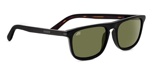 c0b2df8263 Serengeti Leonardo Polarized 8154 Sunglasses in Black ...