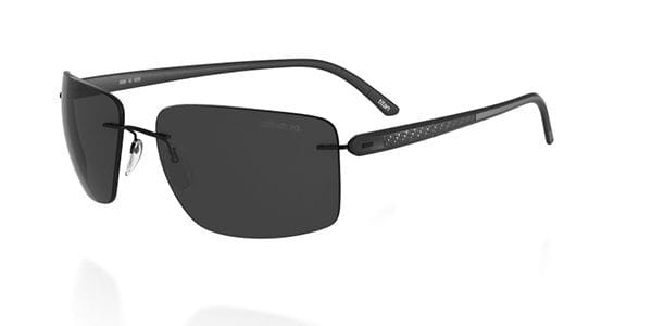 e7f0f3f9628 Silhouette CARBON T1 8686 Polarized 6200 Sunglasses in Black ...