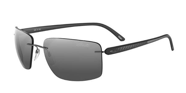 82f44c14729 Silhouette CARBON T1 8686 6220 Sunglasses in Black
