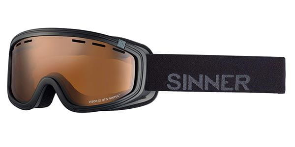 dc210fc40e8 Sinner Visor III Otg SIGO-164 Polarized 10A-P01 Sunglasses in Black ...