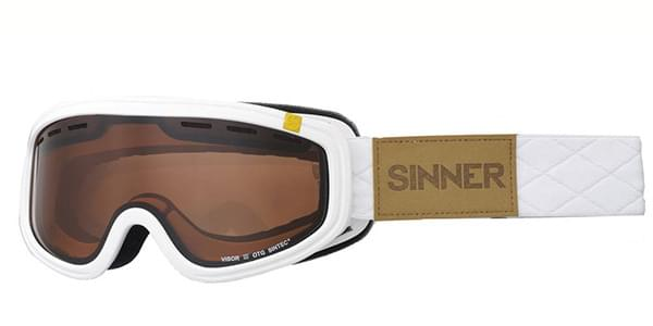 014ddee1372 Sinner Visor III Otg SIGO-164 30-P01 Sunglasses in White ...
