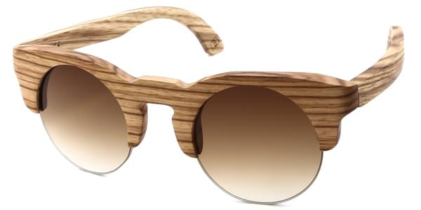 042f6591f4 SmartBuy Collection Wood 4 C03 Sunglasses Brown