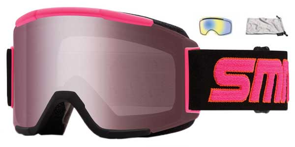 smith squad  Smith SQUAD SQD2IIST17 Sunglasses in Pink | SmartBuyGlasses USA
