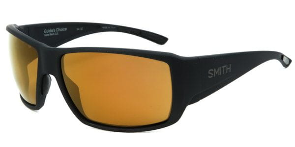 1a35409328 Smith GUIDES CHOICE Polarized DL5 DE Sunglasses Black