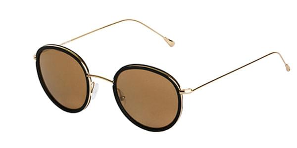 89fc36bfe6147a Spektre Morgan MG03C Black (Bronze Mirror) Sunglasses Gold ...