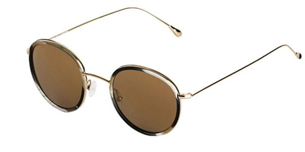 380a27863a305e Spektre Morgan MG01B Horn (Bronze Mirror) Sunglasses Gold ...