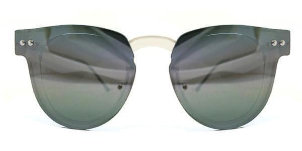 9c872cdf344a Spitfire Sharper Edge Clear Silver Mirror Sunglasses Grey ...