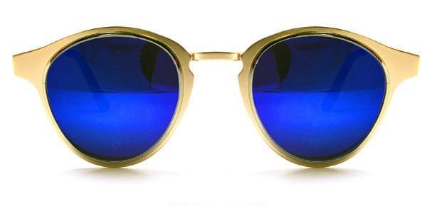 14afd7cbb3 Spitfire Warp Gold Silver Blue Mirror Sunglasses in Silver ...