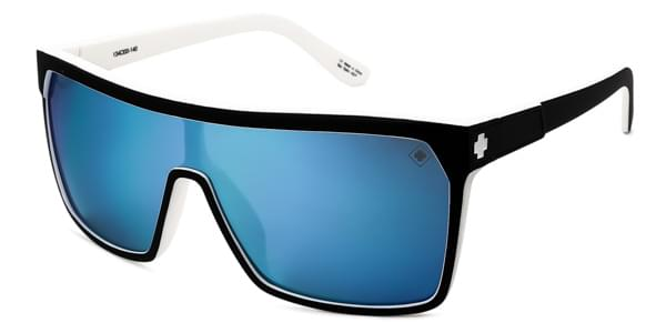 4e3f2ed9dc Spy FLYNN Whitewall - Grey W Light Blue Spectra Sunglasses Black ...