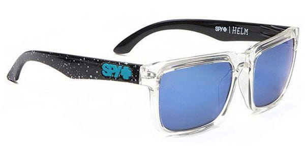 4152fb8e1bd28 Spy HELM Spy + Ken Block Splatter 90 Clear - Grey W Blue Sunglasses ...