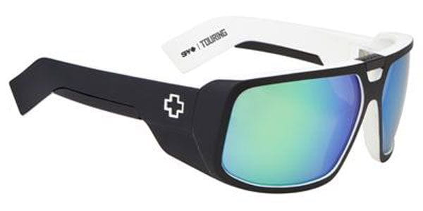 4958896811 Spy TOURING Whitewall - Grey W Green Spectra Sunglasses in Black ...