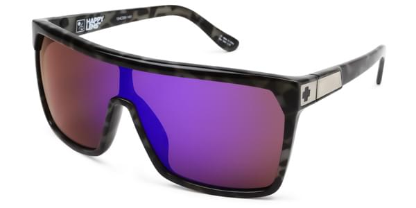 63878b8064 Spy FLYNN Spotted Tort-Happy Bronze W Purple Spectra Sunglasses ...