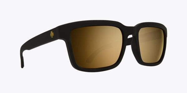 785634b6d7f0b Spy Helm 2 Matte Black-Happy Bronze W Gold Spectra Sunglasses Black ...