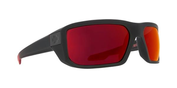 789e78d8ee Spy MCCOY Mccoy Soft Matte Black Red Fade - Happy Gray Green W Red ...