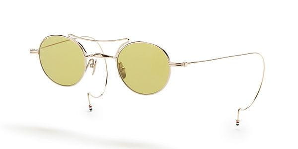 b505bf7a24f Thom Browne TB-902 S TB-902-A-GLD TB-902-A-GLD Sunglasses Gold ...