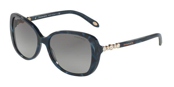 cd1732a56a5 Tiffany   Co. TF4121BF Asian Fit 82003C Sunglasses in Blue ...