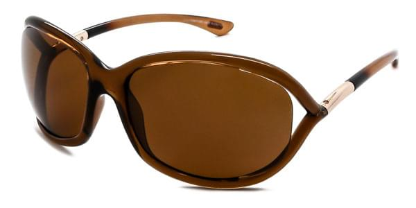 3251a9f209 Tom Ford FT0008 JENNIFER Polarized 48H Sunglasses Brown ...