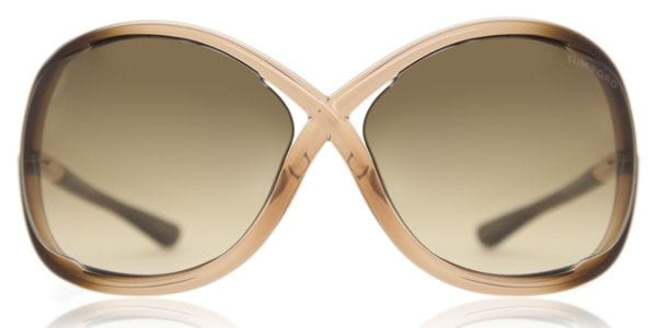 f42caa670f Tom Ford FT0009 WHITNEY 74F Sunglasses in Brown
