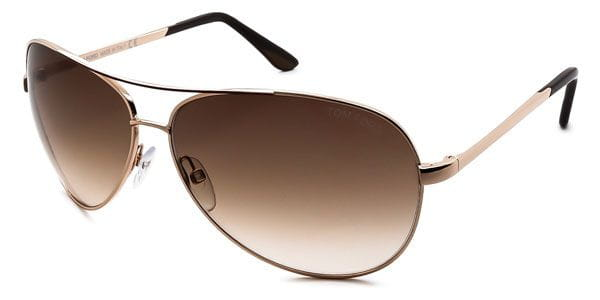 79bf7a3658 Tom Ford FT0035 CHARLES 772 Sunglasses in Gold