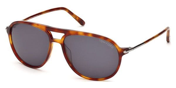 7953d0dfd25 Tom Ford FT0255 JOHN 53A Sunglasses Gold