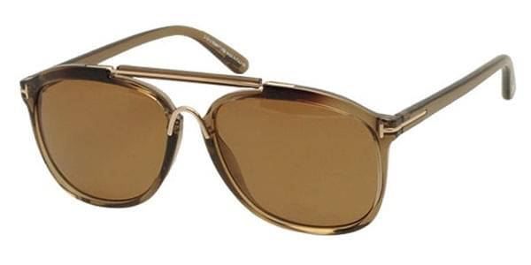 85565fbee0 Tom Ford FT0300 CADE Polarized 50H Sunglasses Brown