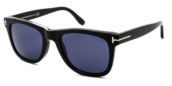 8e6f49433021 Tom Ford FT0336 LEO 01V Sunglasses in Black