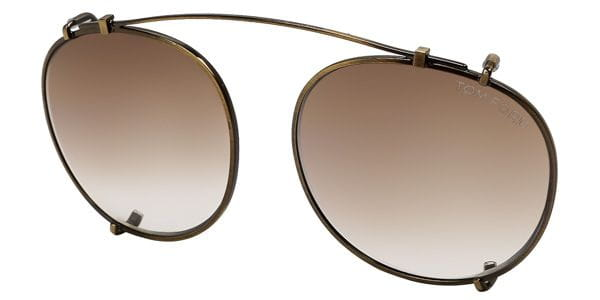 3b7efed5a1317 Tom Ford FT5294-CL Clip On 29K Sunglasses Gold