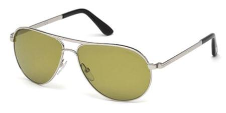 a034d57107 Tom Ford FT0144 MARKO 18V Sunglasses in Silver
