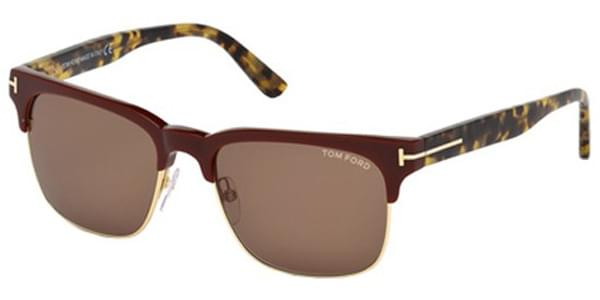 d4aff3510871b Óculos de Sol Tom Ford FT0386 LOUIS 70J Bordô   OculosWorld Brasil