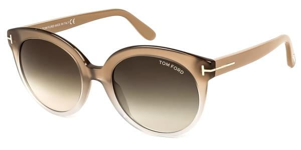 2d06ee97fee Tom Ford FT0429 MONICA 59B Sunglasses Clear