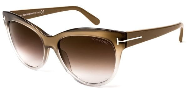 db4deed4665 Tom Ford FT0430 LILY 59G Sunglasses Brown