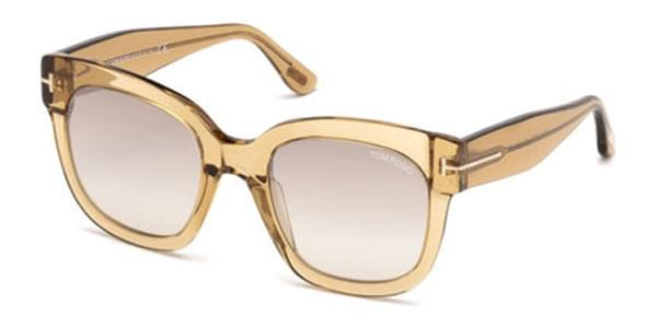 d5eb3cdd58c78 Óculos de Sol Tom Ford FT0613 45F Transparente   OculosWorld Brasil