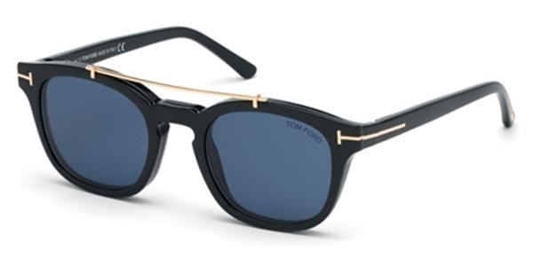 03c37751b5b3f Tom Ford FT5532-B With Clip On 01V Sunglasses. Please activate Adobe Flash  Player in order to use Virtual Try-On and try again.