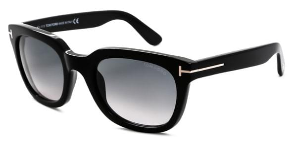 73de982089c Tom Ford FT0198 CAMPBELL 01B Sunglasses Black