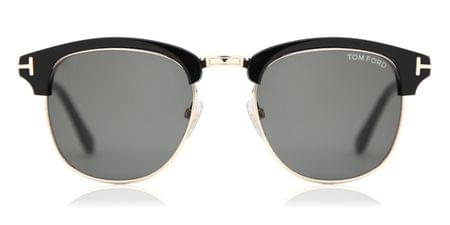 b726e8b2b0cc5 Tom Ford FT0248 HENRY 52A Sunglasses in Tortoise