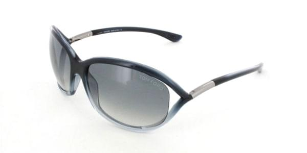 5c8d46ae2fff42 Lunettes de Soleil Tom Ford FT0008 JENNIFER 20B Transparent ...