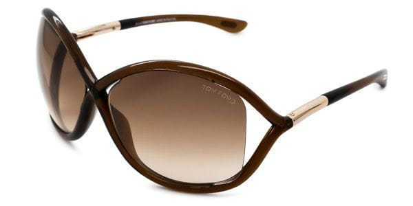 756e3011da621 Tom Ford FT0009 WHITNEY 692 Sunglasses Brown